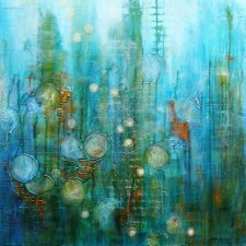 Day Dream in Turquoise By Jeanette Ardern on Mishkalo