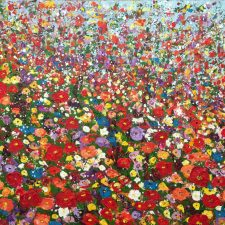 Field Of Wildflowers Field Of Dreams | Bridal Shower gift idea | Mishkalo Art Registry