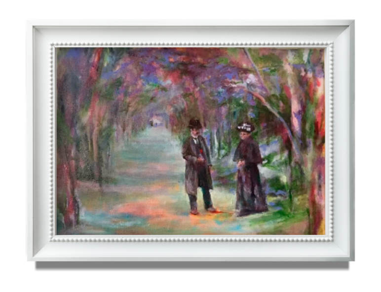 Personalized Wedding Gift for couples -who have everything -  original art
