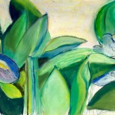 Irises And Stocks | Bridal Shower gift | Bridal Registry for Art