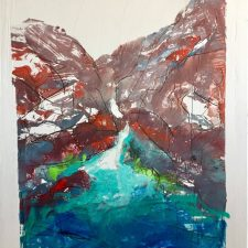 Mountain Lake | Second Marriage gift idea | Wedding Registry for Art