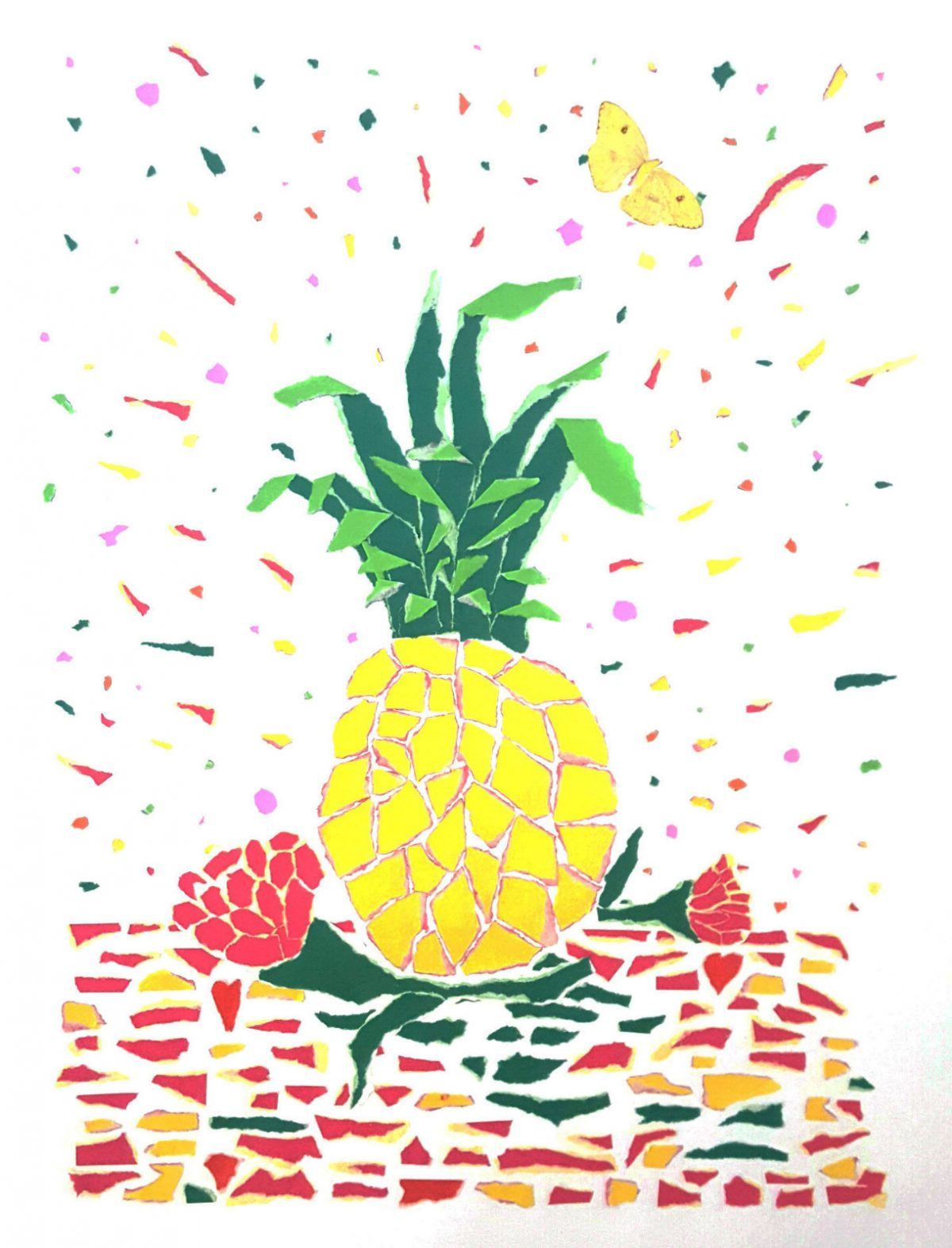 Pineapple Party | Art wedding anniversary gift | Mishkalo Bridal Registry