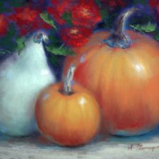 Pumpkins And Mums | Painting gift | Mishkalo Wedding Registry